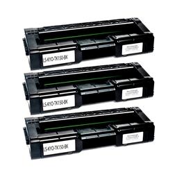 Logic-Seek 3 Toner kompatibel zu Kyocera TK-150K 1T05JK0NL0 HC Schwarz
