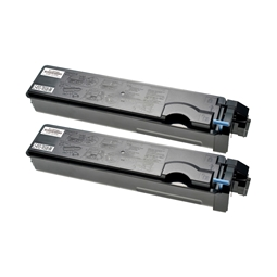 Logic-Seek 2 Toner kompatibel zu Kyocera TK-500K 370PD0KW HC Schwarz