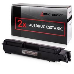 Logic-Seek 2 Toner kompatibel zu Kyocera TK-580K 1T02KT0NL0 HC Schwarz