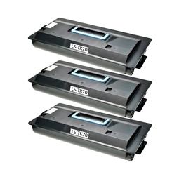 Logic-Seek 3 Toner kompatibel zu Kyocera TK-70 370AC010 HC Schwarz