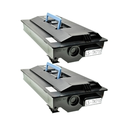 Logic-Seek 2 Toner kompatibel zu Kyocera TK-710 1T02G10EU0 HC Schwarz