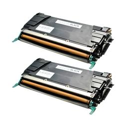 Logic-Seek 2 Toner kompatibel zu Lexmark C732 C734 C734A2KG HC Schwarz