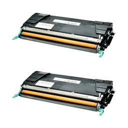 Logic-Seek 2 Toner kompatibel zu Lexmark C746 C748 XL C746H2KG UHC Schwarz
