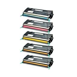 Logic-Seek 5 Toner kompatibel zu Lexmark C746 C748 XL UHC