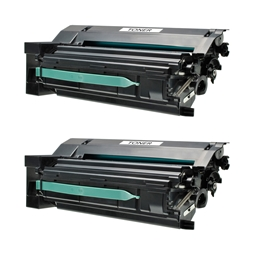 Logic-Seek 2 Toner kompatibel zu Lexmark C770 C7702KH HC Schwarz