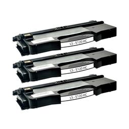 Logic-Seek 3 Toner kompatibel zu Lexmark E120 XL 12036SE HC Schwarz