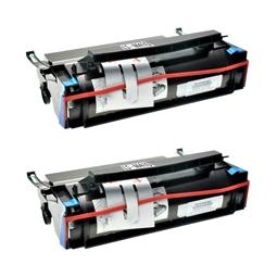 Logic-Seek 2 Toner kompatibel zu Lexmark Optra M410 17G0154 HC Schwarz