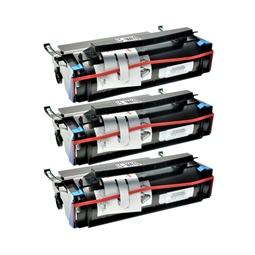 Logic-Seek 3 Toner kompatibel zu Lexmark Optra M410 17G0154 HC Schwarz