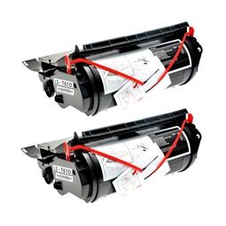 Logic-Seek 2 Toner kompatibel zu Lexmark Optra T610 12A5745 HC Schwarz