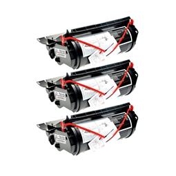 Logic-Seek 3 Toner kompatibel zu Lexmark Optra T610 12A5745 HC Schwarz