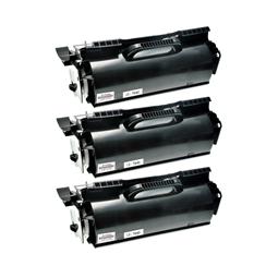 Logic-Seek 3 Toner kompatibel zu Lexmark Optra T640 64036HE HC Schwarz