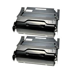 Logic-Seek 2 Toner kompatibel zu Lexmark Optra T650 T650A21E HC Schwarz