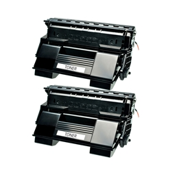 Logic-Seek 2 Toner kompatibel zu OKI B710 B720 B730 1279001 HC Schwarz