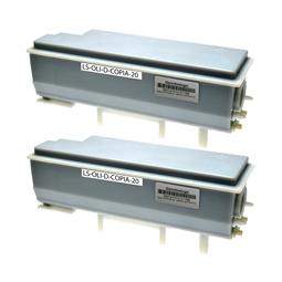 Logic-Seek 2 Toner kompatibel zu Olivetti Dcopia 20 B0360 HC Schwarz