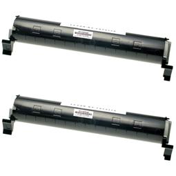 Logic-Seek 2 Toner kompatibel zu Panasonic KX-FAT411X HC Schwarz