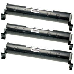 Logic-Seek 3 Toner kompatibel zu Panasonic KX-FAT411X HC Schwarz