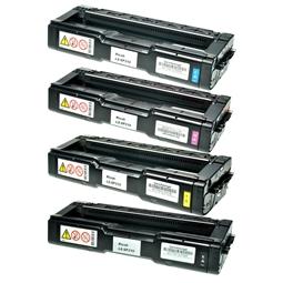 Logic-Seek 4 Toner kompatibel zu Ricoh SPC-231 SPC-310 XL HC