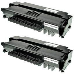 Logic-Seek 2 Toner kompatibel zu Ricoh Aficio SP 1000 413196 HC Schwarz