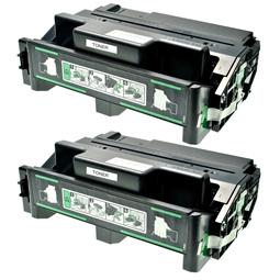 Logic-Seek 2 Toner kompatibel zu Ricoh Aficio AP 400 TYPE220 400943 HC Schwarz