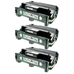 Logic-Seek 3 Toner kompatibel zu Ricoh Aficio AP 400 TYPE220 400943 HC Schwarz