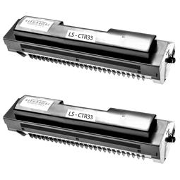 Logic-Seek 2 Toner kompatibel zu Sagem 906115311511 CTR33 HC Schwarz
