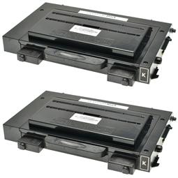 Logic-Seek 2 Toner kompatibel zu Samsung CLP-510 CLP-510D7K/ELS HC Schwarz