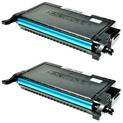 Logic-Seek 2 Toner kompatibel zu Samsung CLP-610 CLP-660 K660 CLP-K660B/ELS HC Schwarz