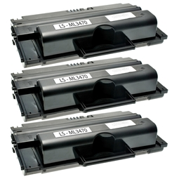 Logic-Seek 3 Toner kompatibel zu Samsung ML-3470 ML-D3470B/EUR HC Schwarz
