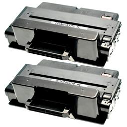 Logic-Seek 2 Toner kompatibel zu Samsung ML-3710 MLT-D205E/ELS HC Schwarz