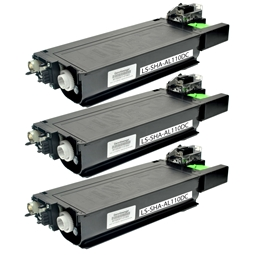 Logic-Seek 3 Toner kompatibel zu Sharp AL-110DC HC Schwarz