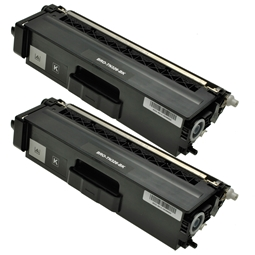 Logic-Seek 2 Toner kompatibel zu Brother TN-326BK HC Schwarz