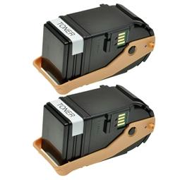 Logic-Seek 2 Toner kompatibel zu Epson C9300 0605 C13S050605 HC Schwarz