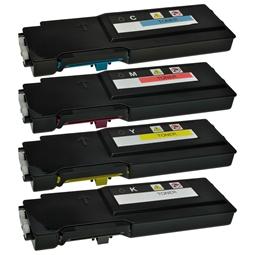 Logic-Seek 4 Toner kompatibel zu Dell C2660 XL HC
