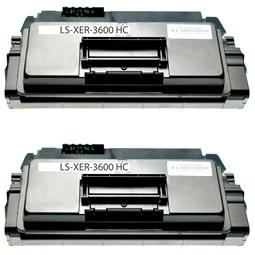 Logic-Seek 2 Toner kompatibel zu Xerox Phaser 3600 106R01371 HC Schwarz