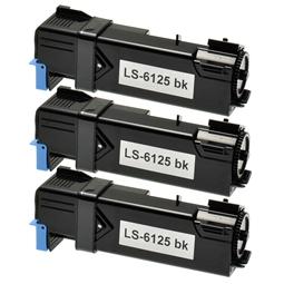 Logic-Seek 3 Toner kompatibel zu Xerox Phaser 6125 106R01334 HC Schwarz