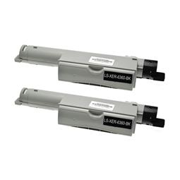 Logic-Seek 2 Toner kompatibel zu Xerox Phaser 6360 106R01221 HC Schwarz