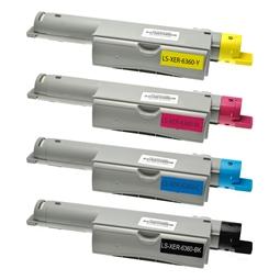 Logic-Seek 4 Toner kompatibel zu Xerox 6360 HC