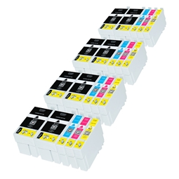 Logic-Seek 20 Tintenpatronen kompatibel zu Epson 27XL XL