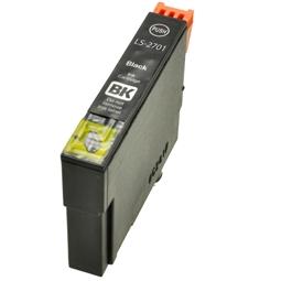 Logic-Seek  Tintenpatrone kompatibel zu Epson Stylus WF3620 27 C13T27014010 XL Schwarz