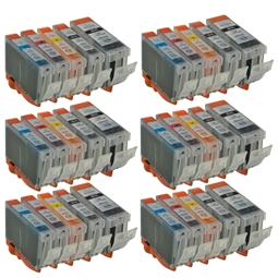 Logic-Seek 30 Tintenpatronen kompatibel zu Canon PGI-5 CLI-8 XL