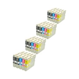 Logic-Seek 20 Tintenpatronen kompatibel zu Brother LC-1000 XL