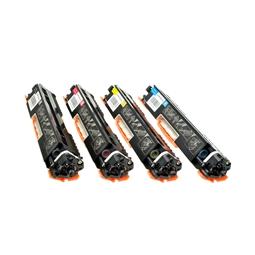 Logic-Seek 4 Toner kompatibel zu HP CE310A-CE313A HC