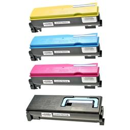 Logic-Seek 4 Toner kompatibel zu Kyocera TK-570 HC
