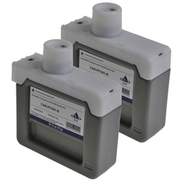 Logic-Seek 2 Tintenpatronen kompatibel zu Canon PFI-301B 1494B001 XL Blau
