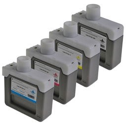 Logic-Seek 4 Tintenpatronen kompatibel zu Canon PFI-301 XL