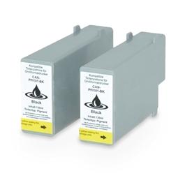 Logic-Seek 2 Tintenpatronen kompatibel zu Canon PFI-101BK 0883B001 XL Schwarz