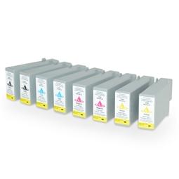 Logic-Seek 8 Tintenpatronen kompatibel zu Canon PFI-101 XL
