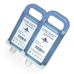 Logic-Seek 2 Tintenpatronen kompatibel zu Canon PFI-704B 3869B005 XL Blau