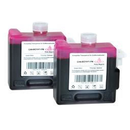 Logic-Seek 2 Tintenpatronen kompatibel zu Canon BCI-1411PM 7579A001 XL Hell Magenta