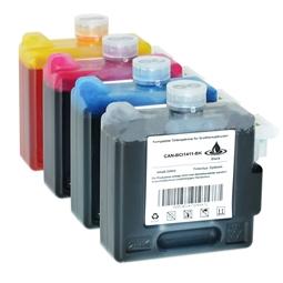 Logic-Seek 4 Tintenpatronen kompatibel zu Canon BCI-1411 XL